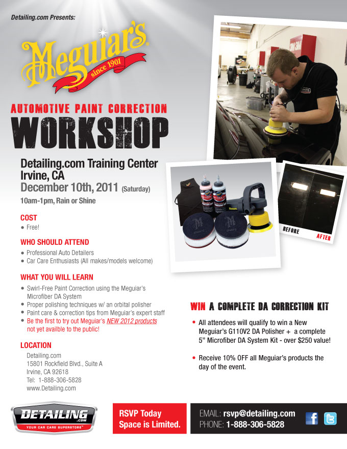 Meguiar's Paint Correction Workshop