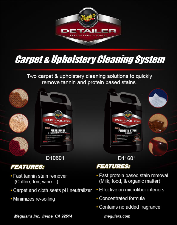 Meguiar's Professional Carpet & Upholstery Cleaning System