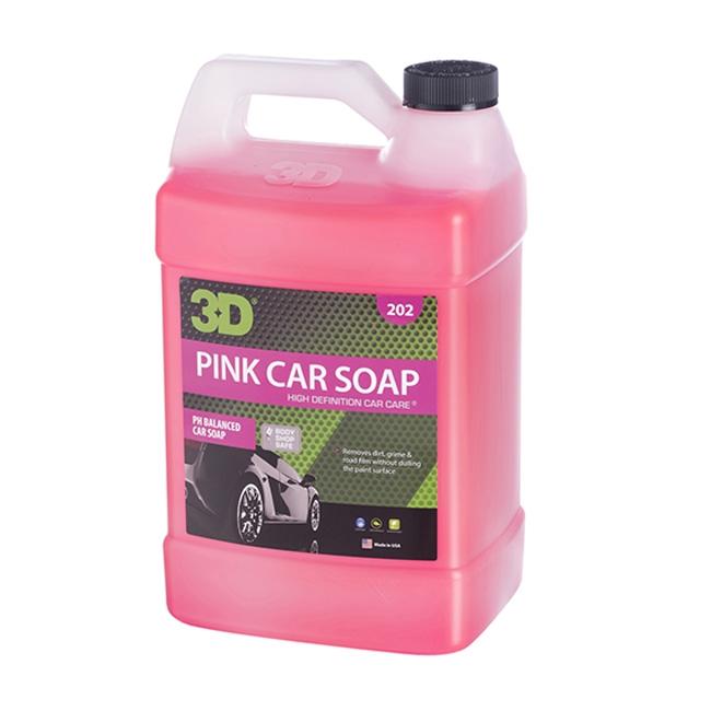 3D Pink Car Soap - 1 gal.