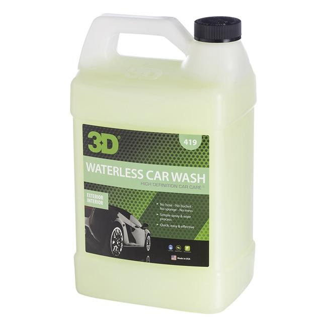 3D Waterless Car Wash - 1 gal.