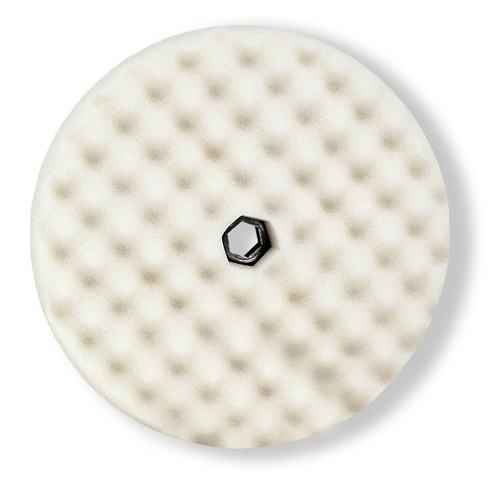 3M Perfect-It White Foam Compounding Pad, Double Sided, Quick Connect, 05706 - 8 inch