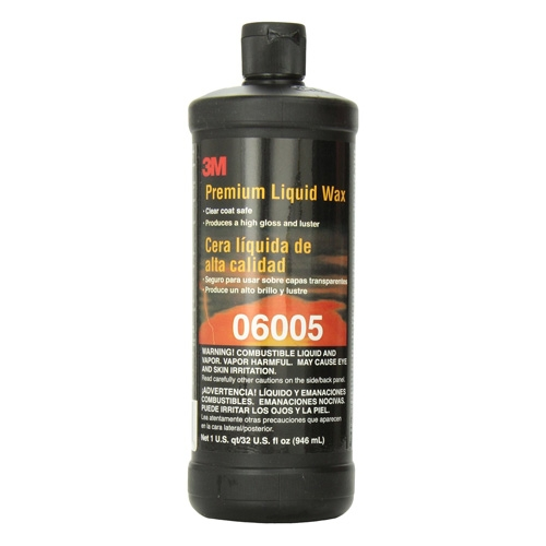 3M Premium Liquid Wax, 06005 - 32 oz.
