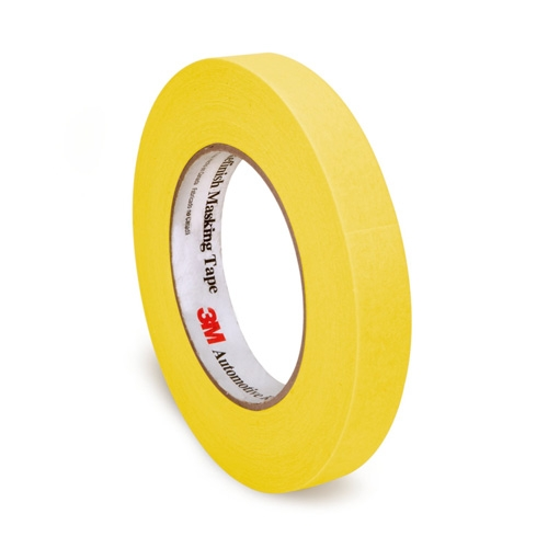 3M Automotive Refinish Masking Tape, 06652 - 18mm x 55m