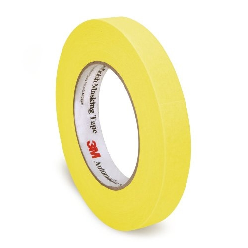 3M Automotive Refinish Masking Tape, 06653 - 24mm x 55m