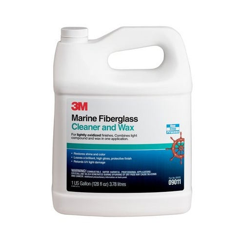 3M Marine Cleaner and Wax, 09011 - 1 gal.