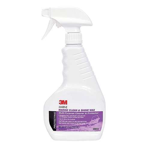 3M Marine Clean and Shine Wax, 09033 - 16.9 oz.