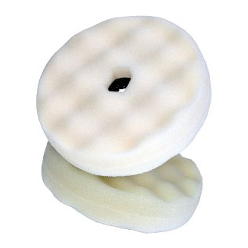 3M Perfect-It White Foam Compounding Pad, Double Sided, Quick Connect, 33284 - 6 inch