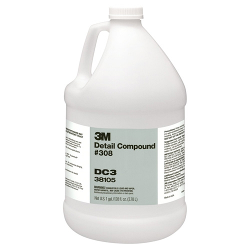 3M Detail Compound #308, 38105 - 1 gal.