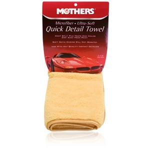 Mothers Microfiber Ultra-Soft Quick Detail Towel, 155600