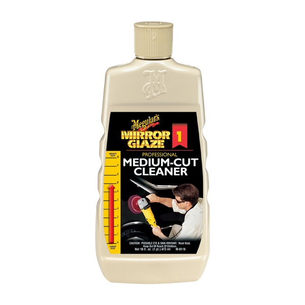 Meguiars Medium Cut Cleaner (16oz)