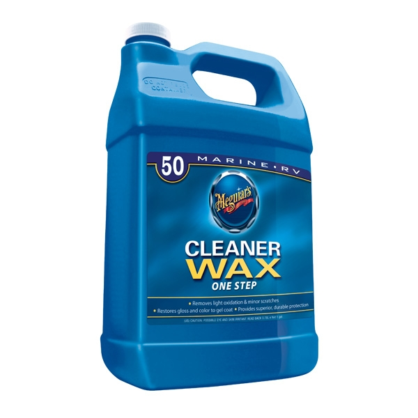 Meguiars Boat/RV One Step Cleaner Wax (1gal)