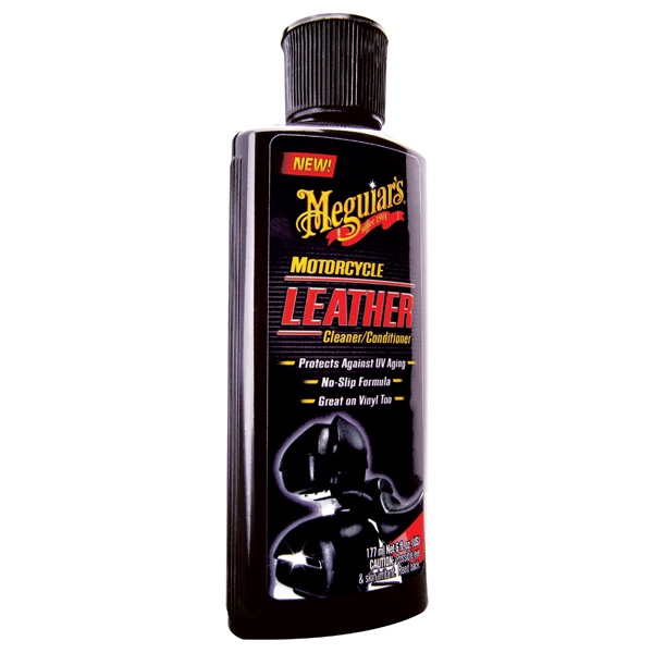 Meguiars Motorcycle Leather Cleaner & Conditioner