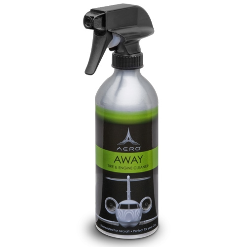 Aero Away - Degreaser, Tire, Wheel, and Engine Cleaner - 16 oz.
