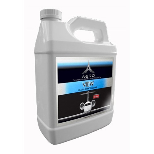 Aero view interior and exterior window cleaner 1 gal for Exterior window cleaner