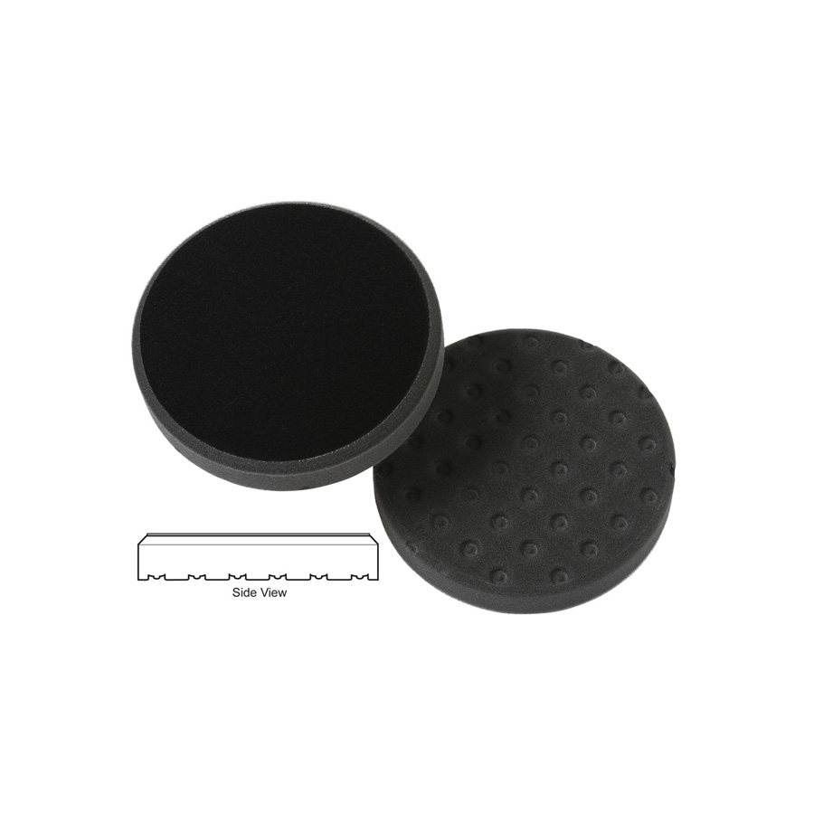 Lake Country CCS Cutback DA Foam Light Polishing Pad, Black - 3.5 inch