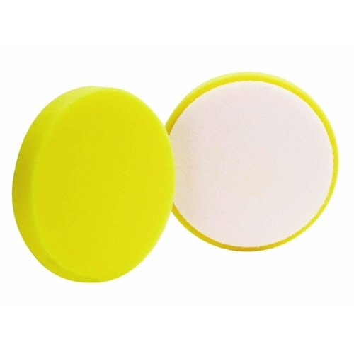 Buff and Shine Yellow Foam Cutting Pad - 4 inch (2 pack)
