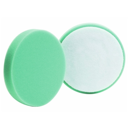 Buff and Shine Green Foam Polishing Pad - 4 inch (2 pack)