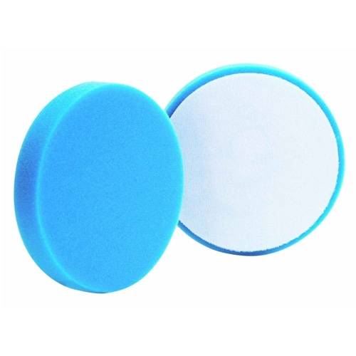 Buff and Shine Blue Foam Light Polishing Pad - 4 inch (2 pack)