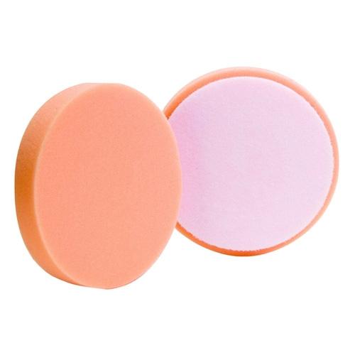 Buff and Shine Orange Foam Medium Cutting Pad - 4 inch (2 pack)