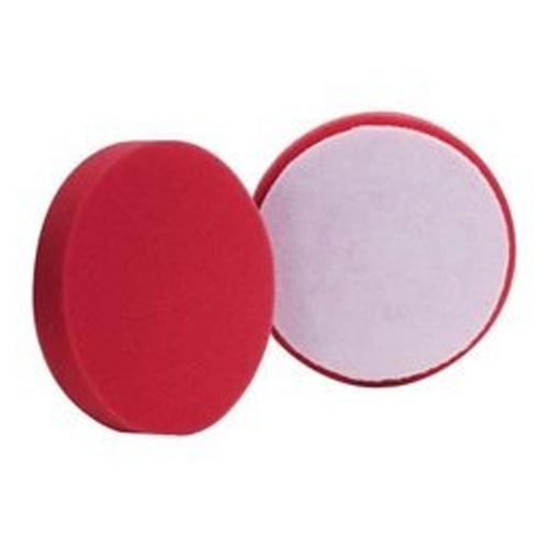 Buff and Shine Red Foam Ultra Finishing Pad - 5.5 inch