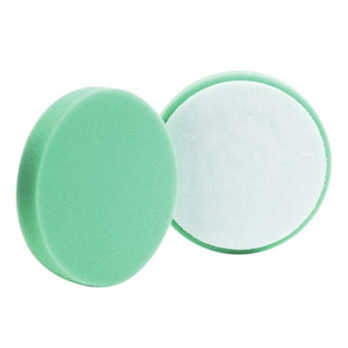 Buff and Shine Green Foam Polishing Pad - 5.5 Inch