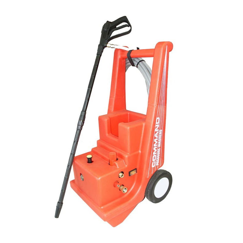 Cam Spray 1000 PSI Cold Water Electric Command Cart Pressure Washer with Mechanical Thermal Relief - C1000E