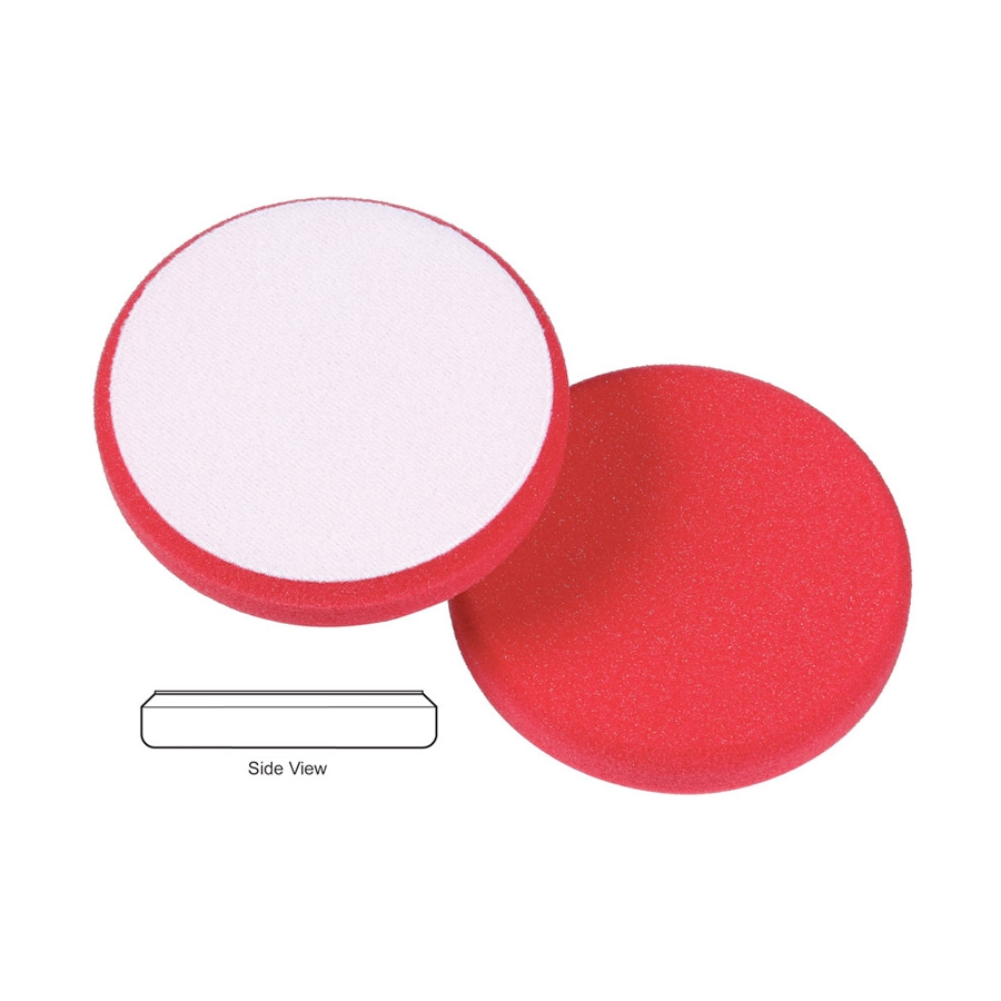 Lake Country Hydro-Tech Low Profile Crimson Foam Finishing Pad - 5.5 inch x 7/8 inch