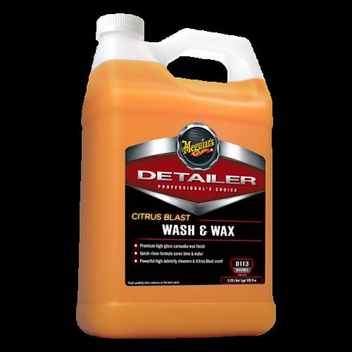 Meguiar's Citrus Blast Wash & Wax - 1 gal.