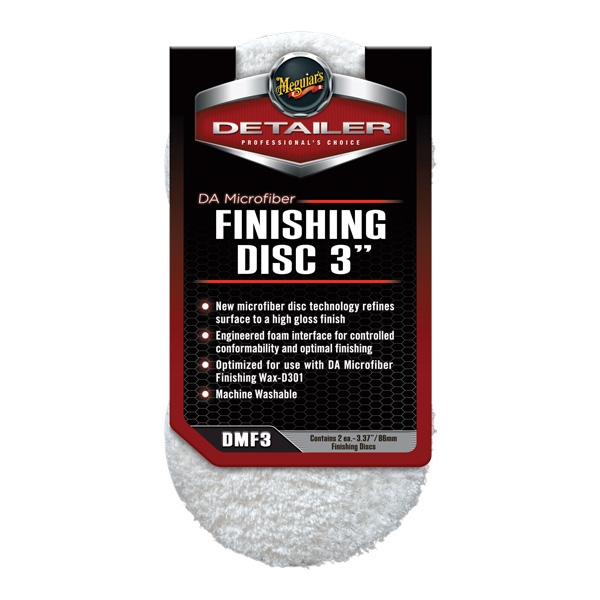 Meguiar's DA Microfiber Finishing Pad (3 in)