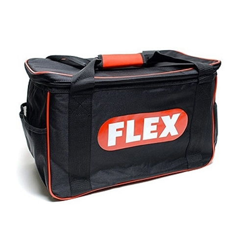 Flex NEW Black Polisher Bag, Black w/ Red