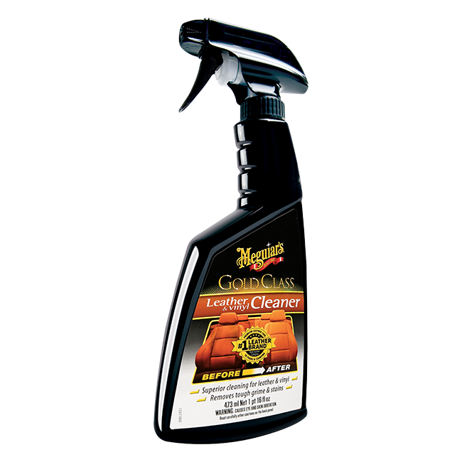 Meguiar's Gold Class Leather & Vinyl Cleaner (16 oz)
