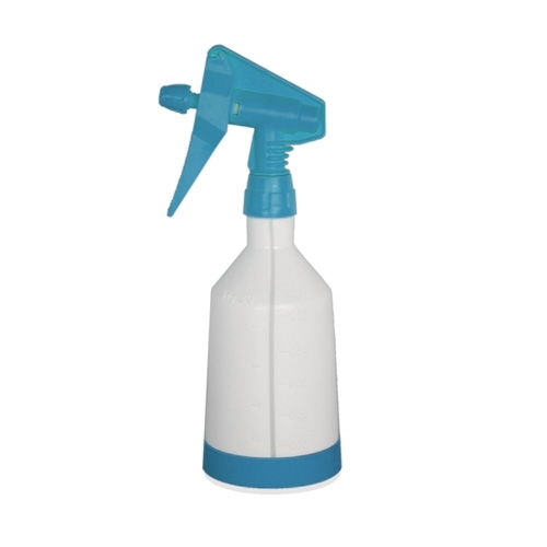 Kwazar Mercury Pro+ Spray Bottle w/ Dual Action Trigger, Blue - 0.5 Liter
