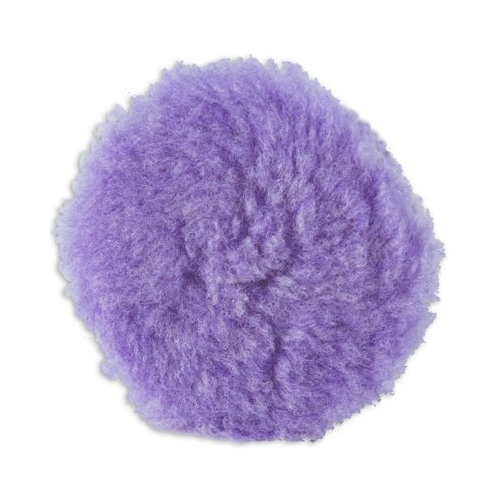Lake Country Purple Foamed Wool Buffing/Polishing Pad - 3.5 inch