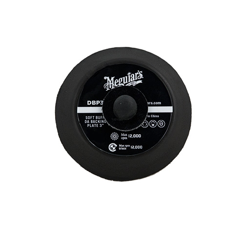 Meguiar's Soft Buff Backing Plate for Orbital/DA Polishers, DBP3 - 3 inch