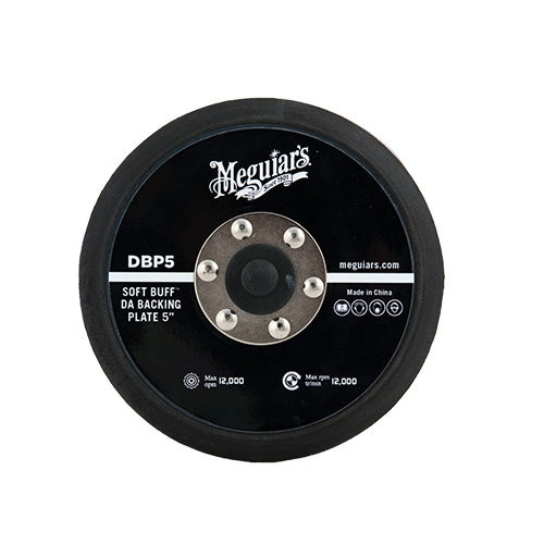 Meguiar's Soft Buff Backing Plate for Orbital/DA Polishers, DBP5 - 5 inch
