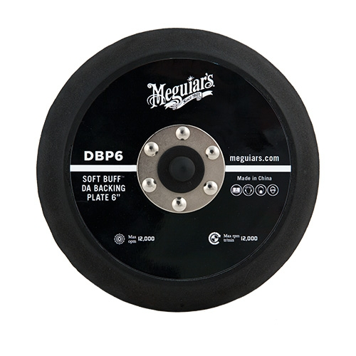 Meguiar's Soft Buff Backing Plate for Orbital/DA Polishers, DBP6 - 6 inch