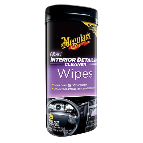 meguiar 39 s quik interior detailer wipes. Black Bedroom Furniture Sets. Home Design Ideas