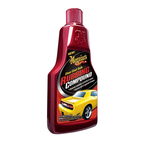 Meguiar's Clear Coat Safe Rubbing Compound - 16 oz.