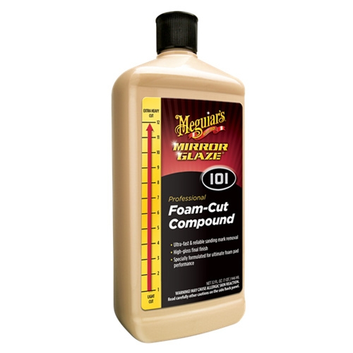Meguiar's Foam Cut Compound #101, M101 - 32 oz.