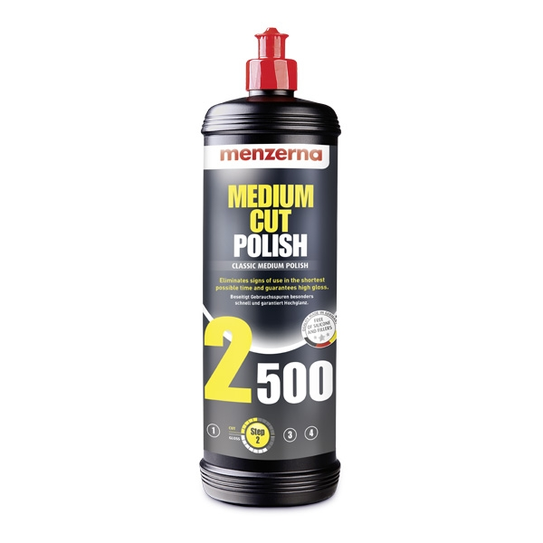 Menzerna Medium Cut Polish 2500 - 32 oz.