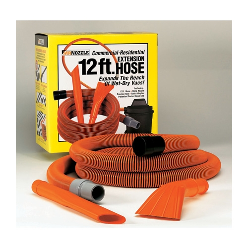 Mr. Nozzle Vac Tool Kit for Wet-Dry Shop Vacs - 12 ft. Hose