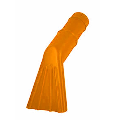 Mr. Nozzle Short Claw Nozzle for Wet/Dry Vacs, fits 1.5-inch hose - Orange