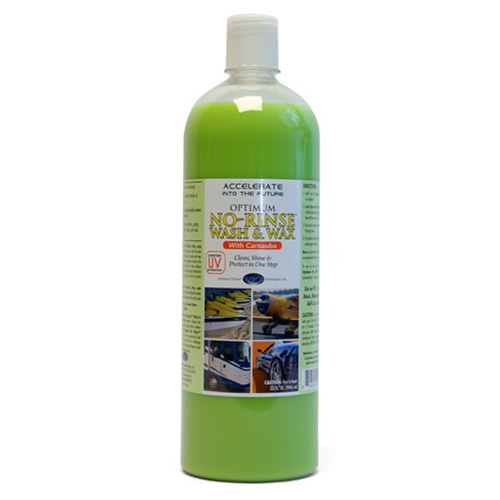 Optimum No Rinse Wash & Wax - 32 oz. concentrate