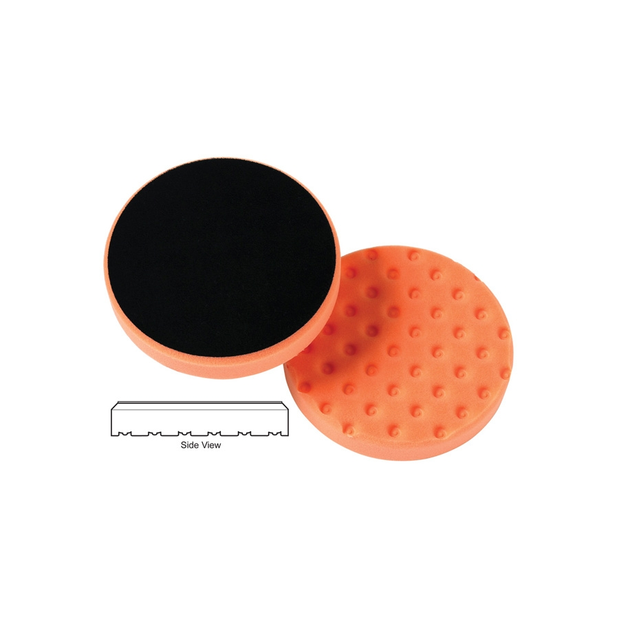 Lake Country CCS Cutback DA Foam Light Cutting Pad, Orange - 3.5 inch