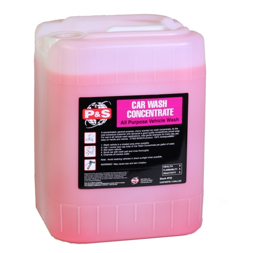 P Amp S Car Wash Concentrate 5 Gal