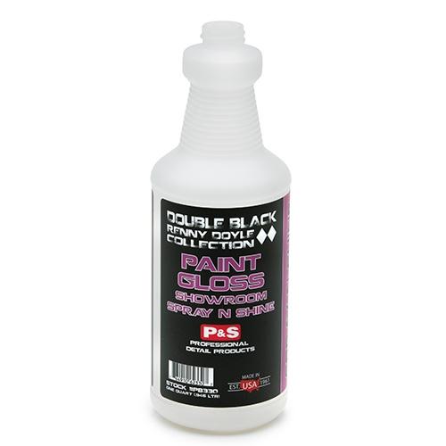 P&S Double Black Spray Bottle, 32 oz. - Paint Gloss