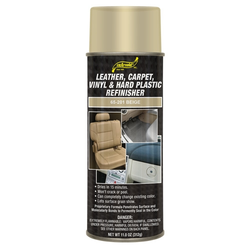 SM Arnold Leather, Vinyl & Hard Plastic Refinisher, Beige - 11 oz. aerosol