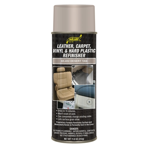 SM Arnold Leather, Vinyl & Hard Plastic Refinisher, Desert Tan - 11 oz. aerosol