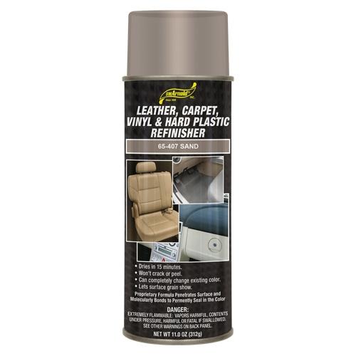SM Arnold Leather, Vinyl & Hard Plastic Refinisher, Sand - 11 oz. aerosol
