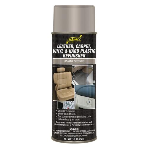 SM Arnold Leather, Vinyl & Hard Plastic Refinisher, Greige - 11 oz. aerosol